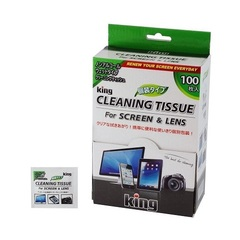 Чистящие салфетки King Lens Cleaning Tissue
