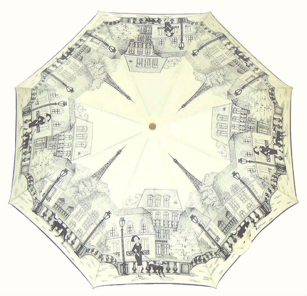 Зонт складной Guy de Jean 3405-4 Boulevards de Paris