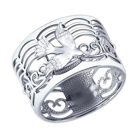 94012184- Кольцо из серебра