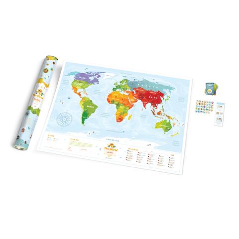 Карта Travel Map Kids Sights