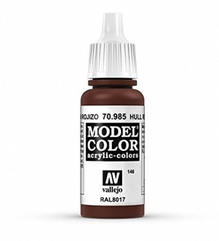 Model Color Hull Red 17 ml.