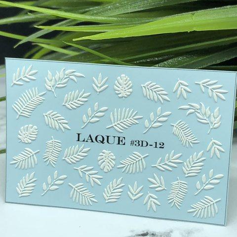 LAQUE Cлайдер дизайн #3D-12 белый