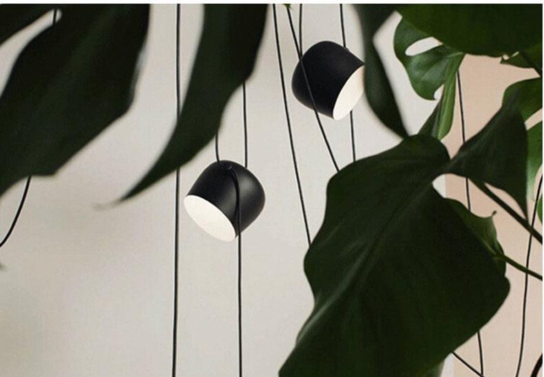 Подвесной светильник копия AIM by Flos (4 плафона, белый)