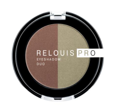 RELOUIS Тени Pro Eyeshadow DUO двойные тон 110