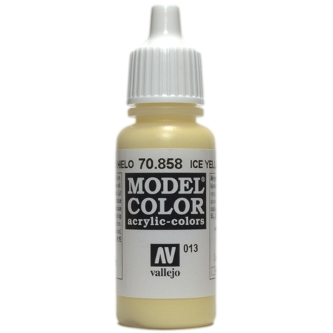 Model Color Ice Yellow 17 ml.