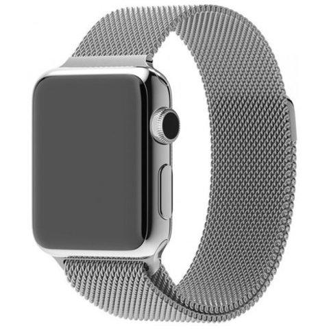 Миланское плетение для Apple Watch 38/40mm  Silver