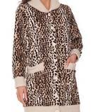 Теплый леопардовый халат DolceVita