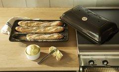 Форма Baguettes для выпечки багета Emile Henry (базальт)