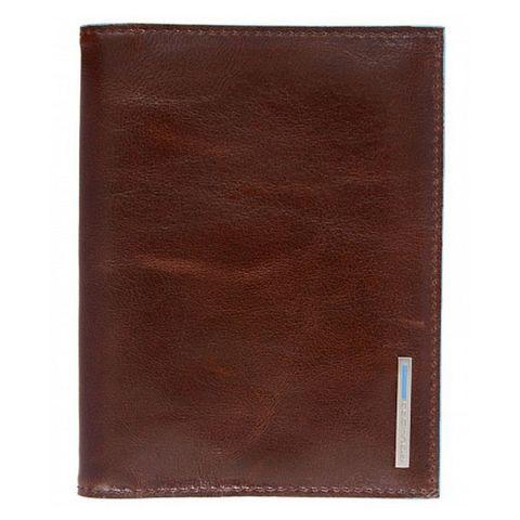 Обложка для паспорта Piquadro Blue Square (PP1660B2/MO) коричневый кожа