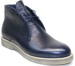 Кожаные ботинки мужские Ikoc 004-9 S
