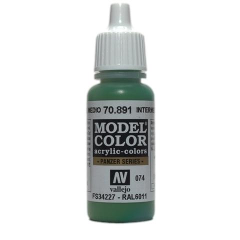 Model Color Intermediate Green 17 ml.