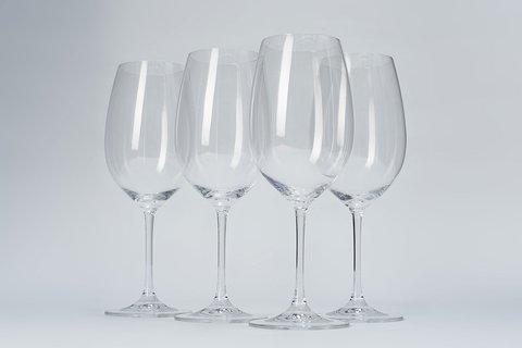 Набор из 4-х бокалов для вина  710 мл, артикул 96071. Серия Red&White