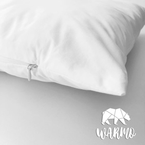 Комлект Ковдра + Товста подушка в дитяче ліжечко (Італійський батист + Штучний лебединий пух/Мікроволокно) Фото товару