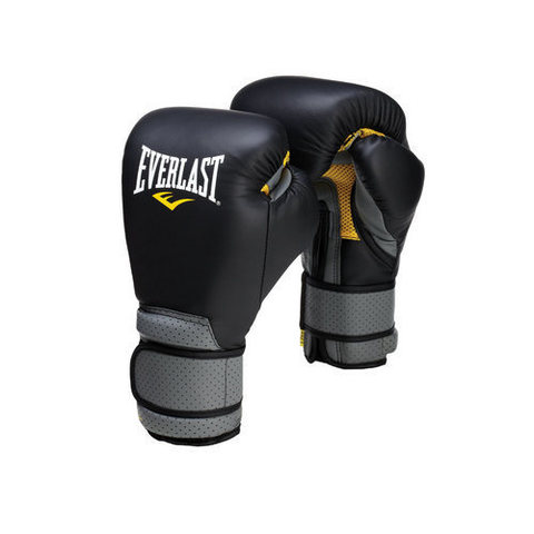 Перчатки PRO LEATHER STRAP. Everlast