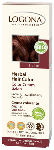 LOGONA Крем-краска для волос