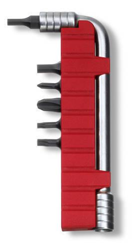 Сменный комплект насадок (ключ, держатель, 6 бит) для SwissTool Plus(3.0238, 3.0239, 3.0338, 3.0339)