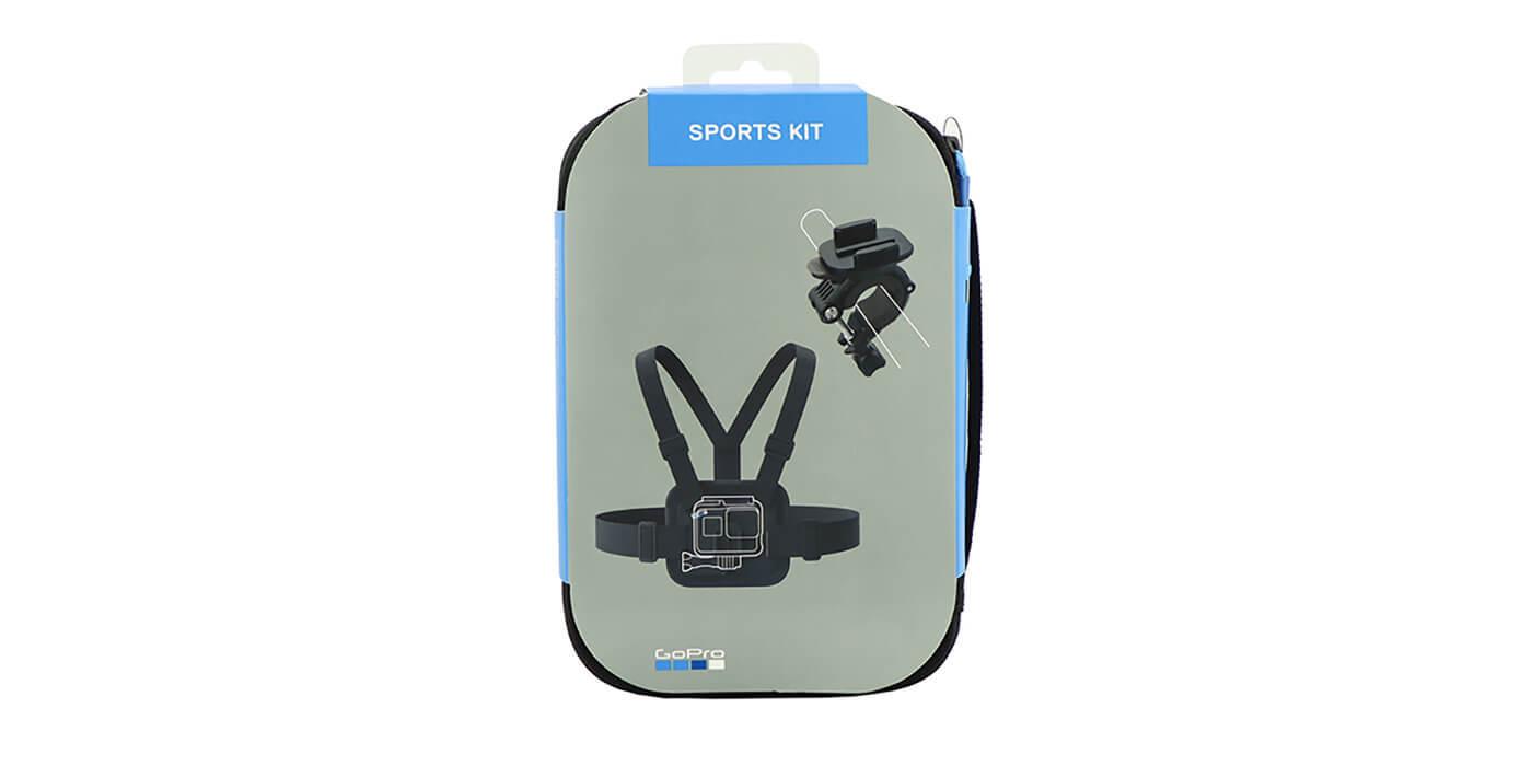 Набор аксессуаров GoPro Sport Kit (AKTAC-001) упаковка