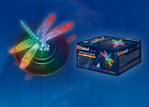 USL-S-106/PT075 Садовый светильник на солнечной батарее Magic dragonfly.Серия Special