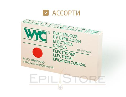 Ассорти - упаковка из 50 игл WYC разного типоразмера