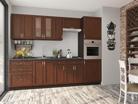 Кухня Шале-2 венге, brown oak
