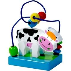 Toys Lab Деревянный лабиринт «Коровка» (71010)
