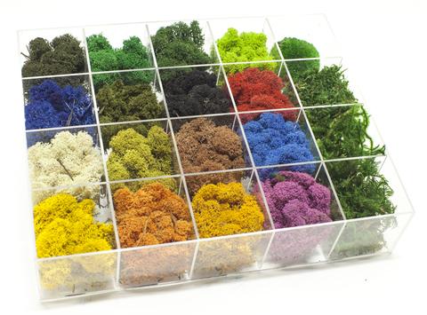 цветовая палитра мха