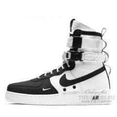 Кроссовки мужские Nike Air Force 1 SF Urban White Black