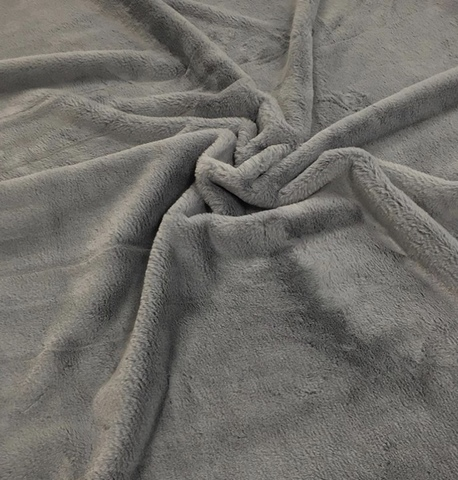 Экомех (100% полиэстер) Серый