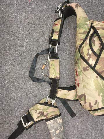 Парашютный ранец Fire 2 (SWS)