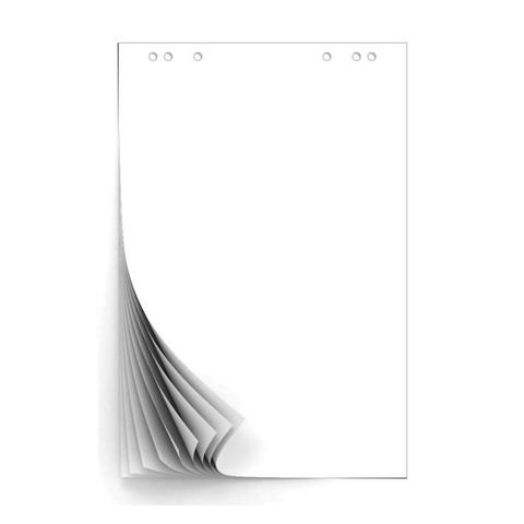 Бумага для флипчартов Attache 67.5х98 см белая 10 листов (80 г/кв.м)