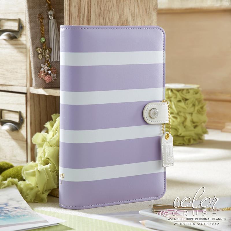 Планер PERSONAL PLANNER Binder: Lavender/White by Websters Pages (БЕЗ внутреннего наполнения)