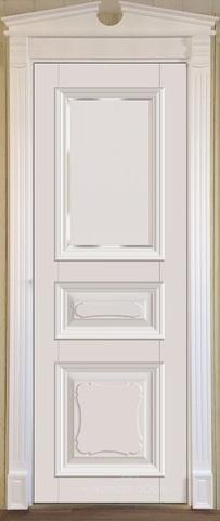 Межкомнатная дверь Violetta 21.3 под стекло