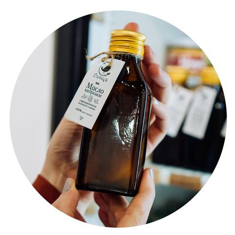 Кедровое масло сыродавленное 100 мл