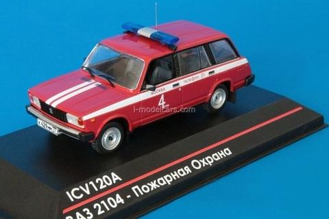 VAZ-2104 Lada Moscow Fire departament 1:43 ICV120A