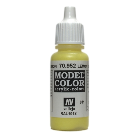 Model Color Lemon Yellow 17 ml.
