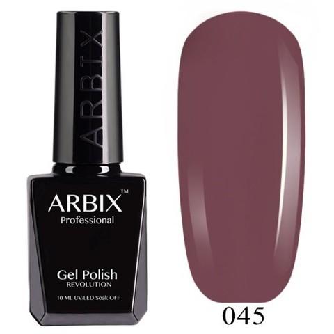 Гель-лак Arbix Французский Каштан №045