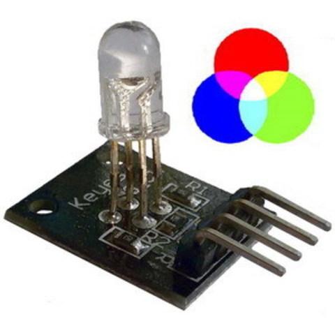 Модуль светодиодный 3-х цветный KY-016
