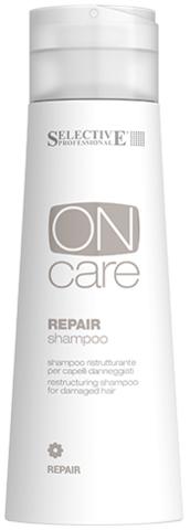 Восстанавливающий шампунь для поврежденных волос, Selective, 250мл.