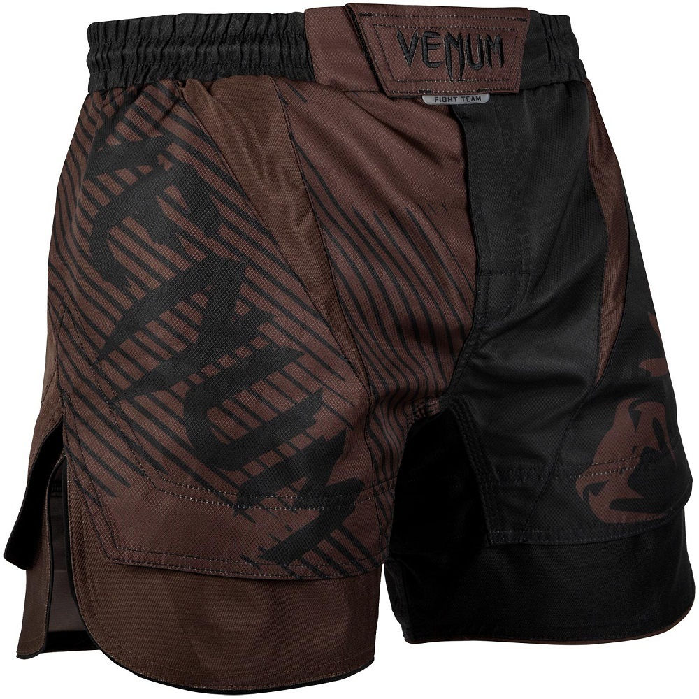 Шорты Шорты Venum NoGi 2.0 Fightshorts Black/Brown 1.jpg