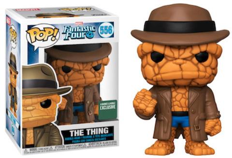 The Things (Fantastic Four) Funko Pop!    Существо в шляпе