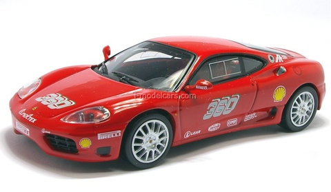Ferrari 360 GT Challenge red 1:43 Eaglemoss Ferrari Collection #29