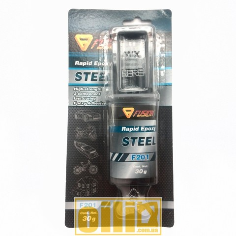 Fusion F201 RAPID EPOXY STEEL 30g