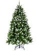 Ёлка Triumph Tree Императрица заснеженная с шишками 215 см