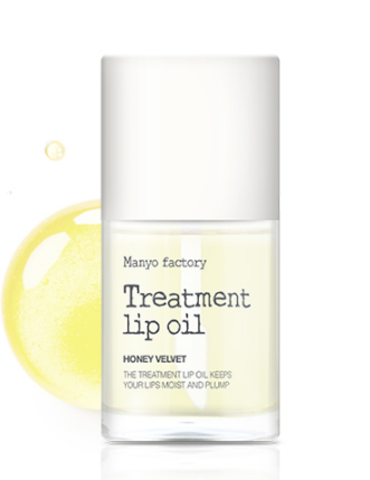 MANYO FACTORY TREATMENT LIP OIL HONEY VELVET МАСЛО ДЛЯ ГУБ   6 мл