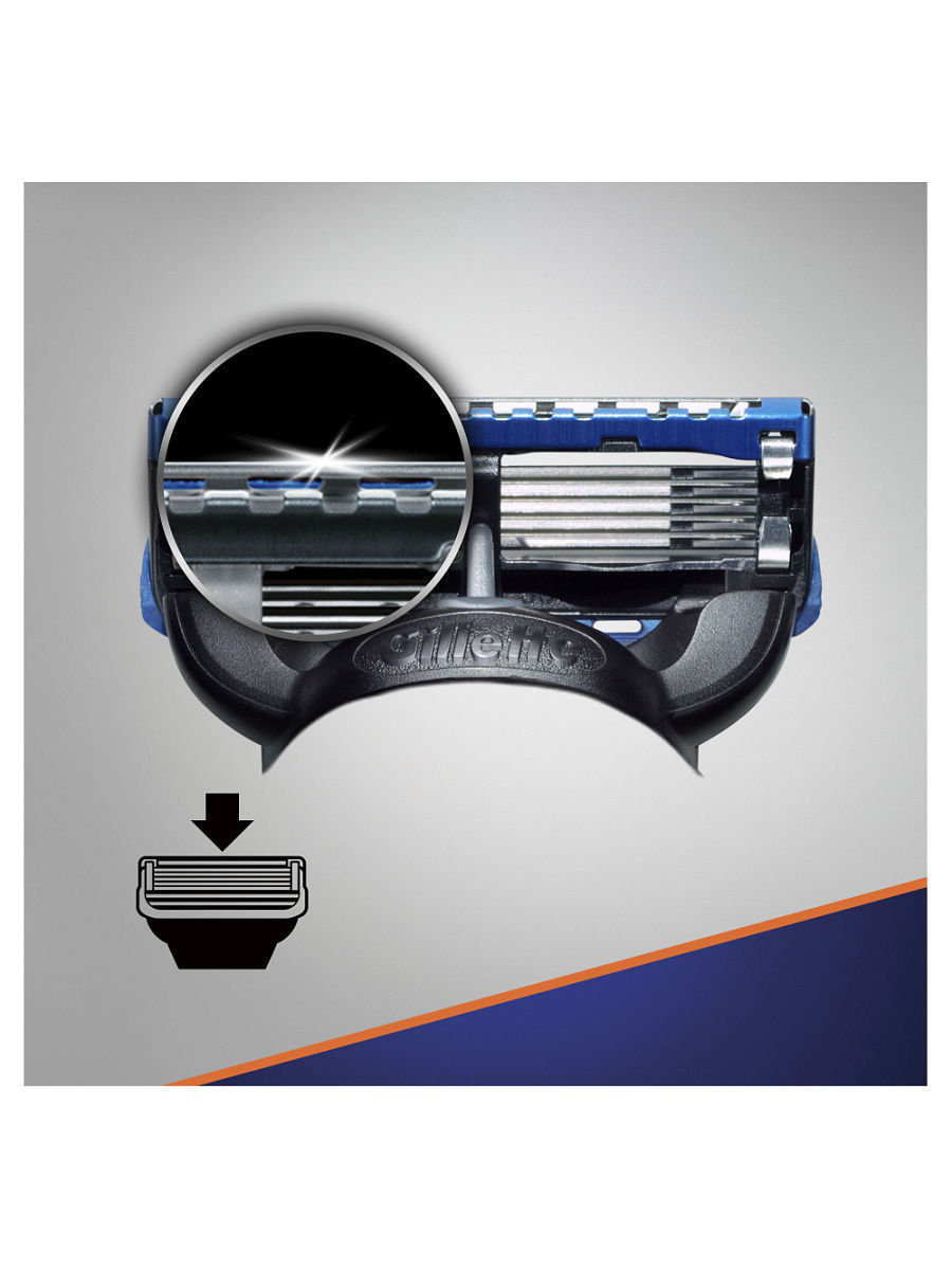 Fusion Proglide комплект (5х8) 40шт. (Цена за 1 пачку 1320р.)