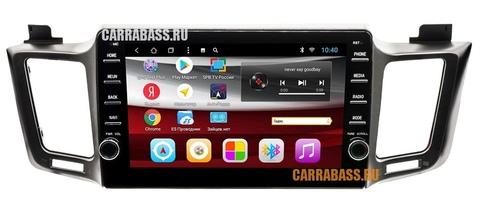 Головное устройство CarraBass CB-1002T8 Toyota RAV4 2013-2018 Android 8.1