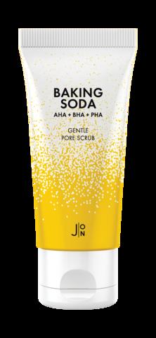 Скраб для лица содовый  J:ON Baking Soda Gentle Pore Scrub, 50 гр