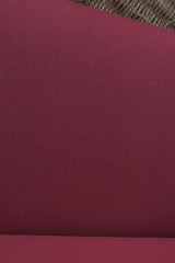 Широкая полульняная ткань цвет КРАСНЫЙ