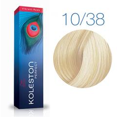 Wella Professional KOLESTON PERFECT 10/38 (Пудровый экрю) - Краска для волос