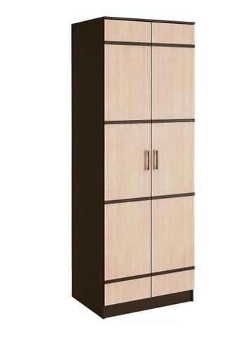 Шкаф бельевой 2-х створчатый модульная система Сакура БТС Венге, лоредо